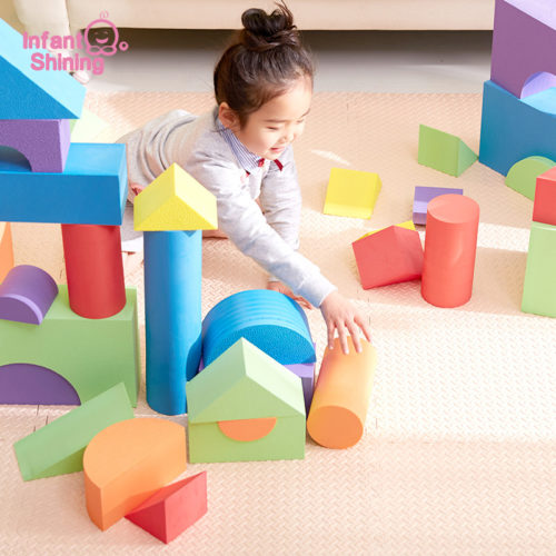 Building Blocks For Kids Soft EVA Foam Toys