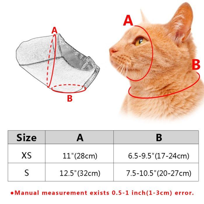 Cat Muzzle Breathable Pet Accessory