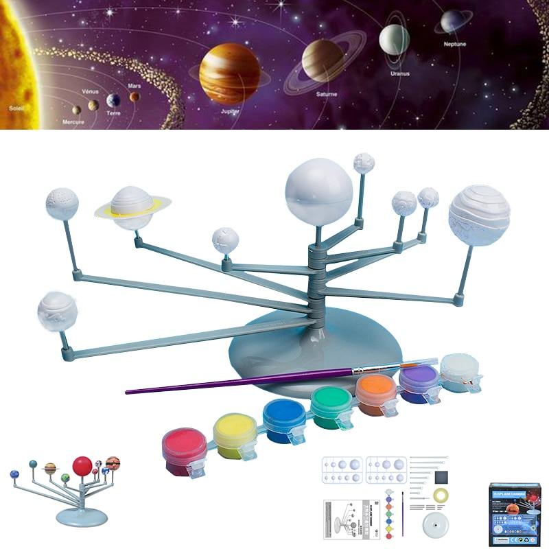 Solar System Model for Kids DIY Set - Life Changing Products