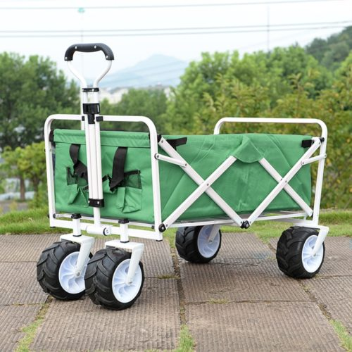 Beach Cart Foldable Cloth Wagon