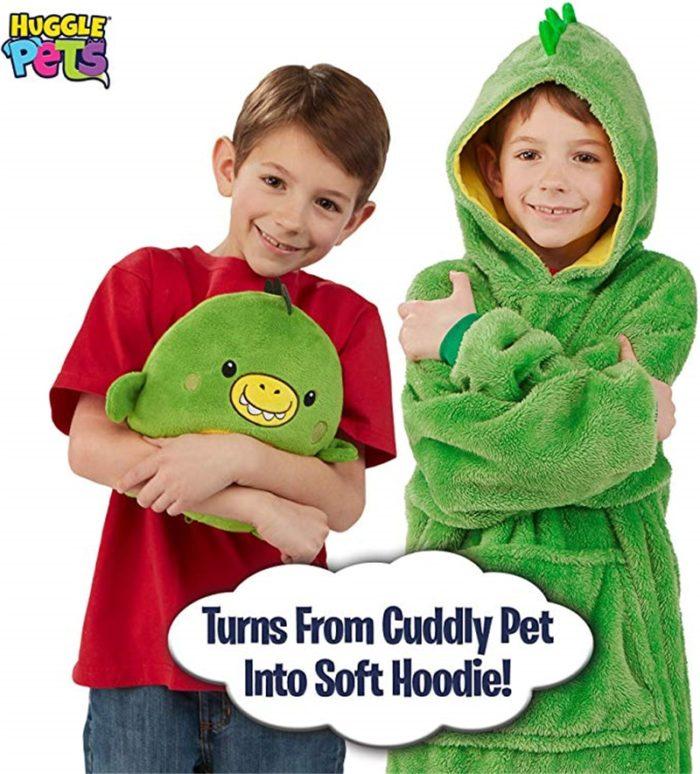 Cute Hoodie Kids Plush Toy
