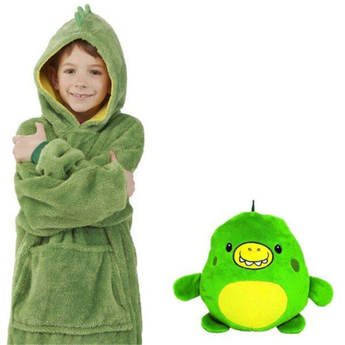 Cute Hoodie Kids Plush Toy