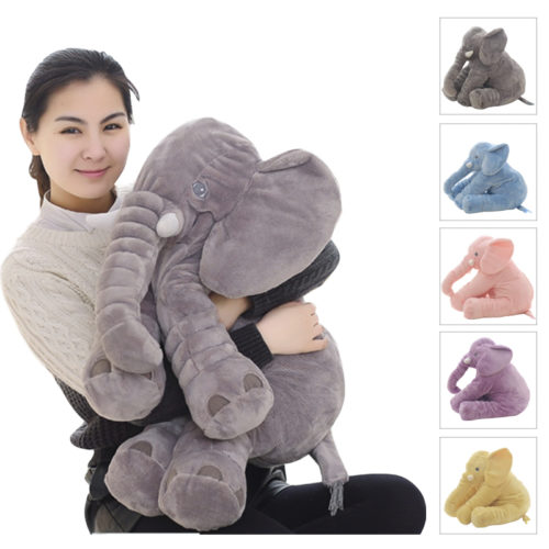 Elephant Plush Stuffed Animal Toy
