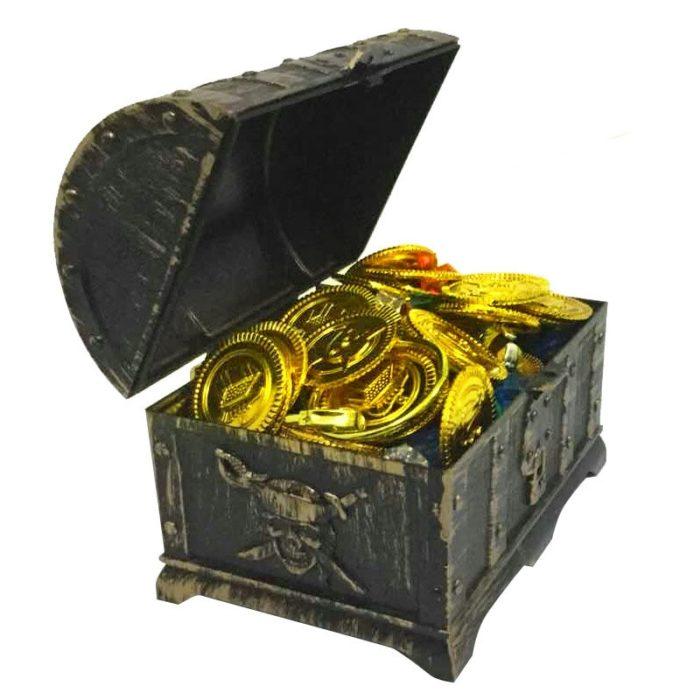Toy Treasure Chest Halloween Props