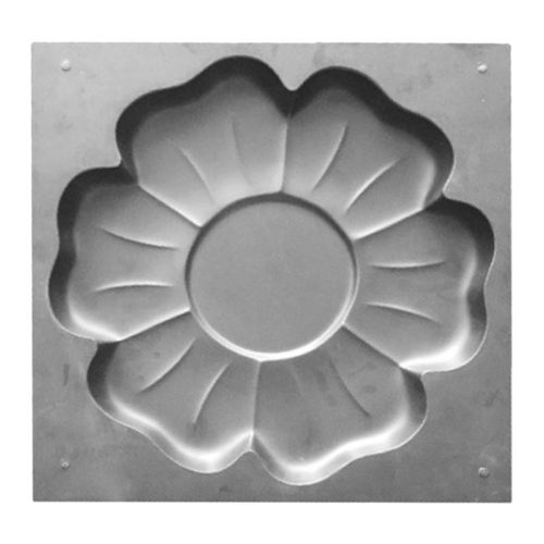 Stepping Stone Mold Flower Design