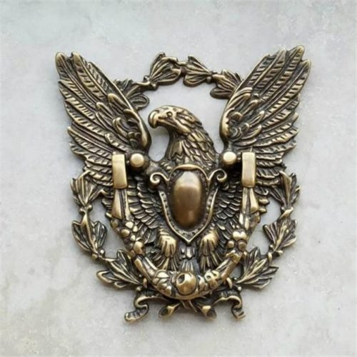 Brass Door Knocker Eagle Design