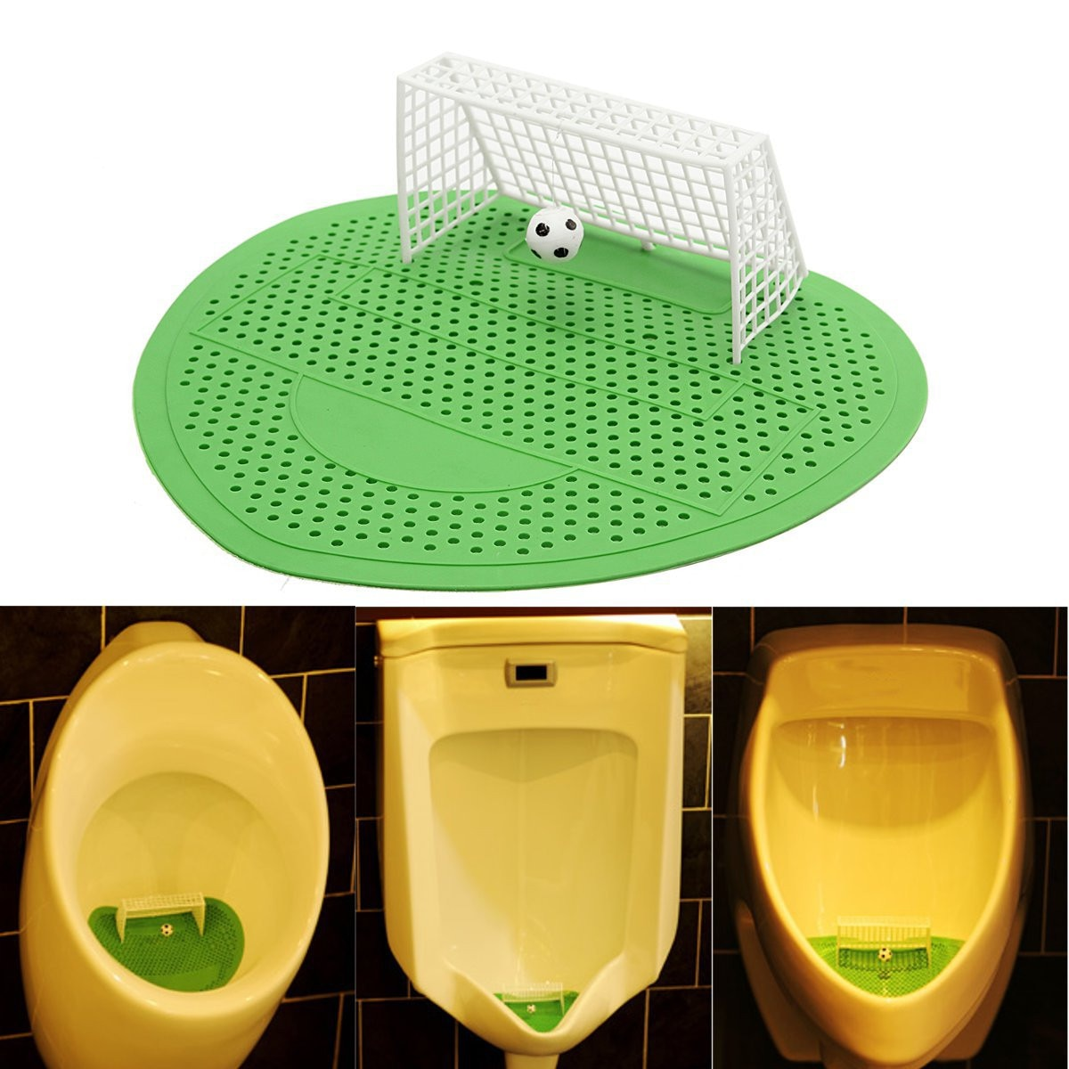 Buy This Urinal Design Soccer Mat