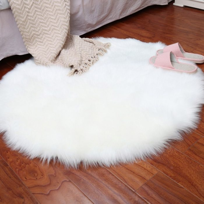 Faux Fur Rug Non-Slip Home Decor
