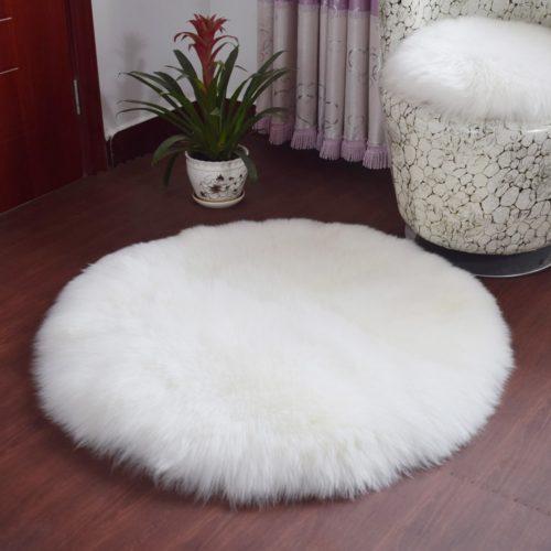 Faux Fur Rug Non-Slip Home Decor