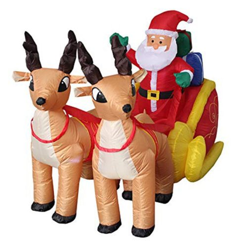 Inflatable Santa Claus Christmas Decor
