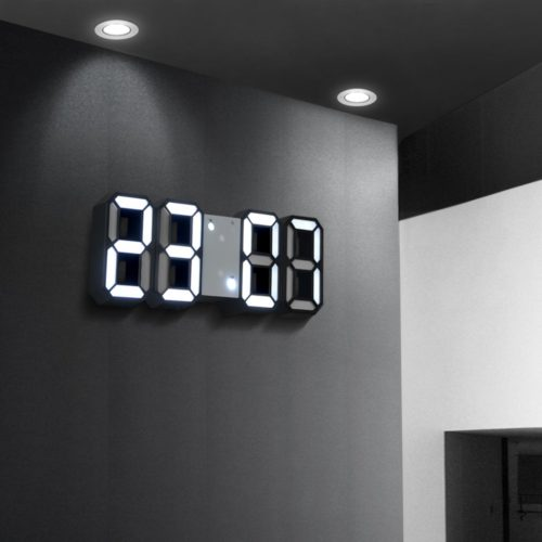 LED Digital Wall Clock Smart Display