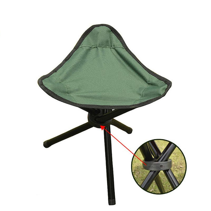Folding Camp Stool Portable Chair Life Changing Products