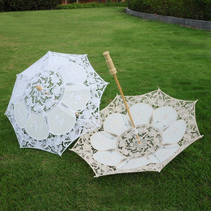 Lace Umbrella Vintage Style Accessory