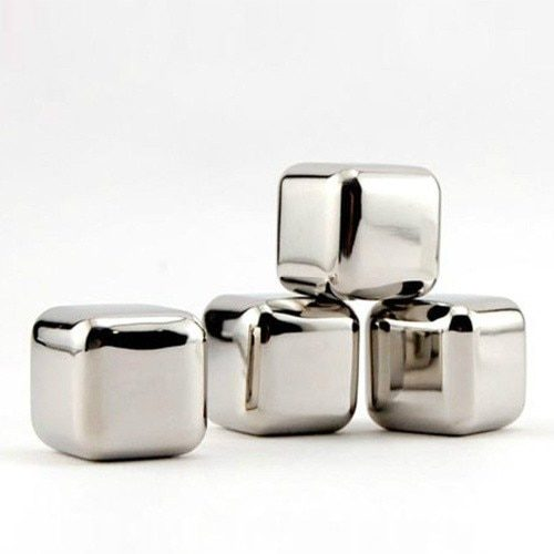 Stainless Steel Ice Cubes 10PC Set