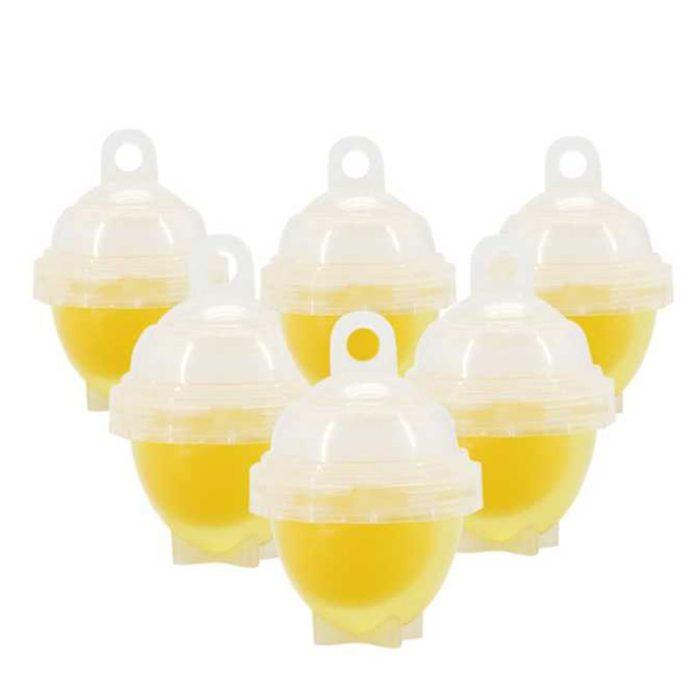 Egg Poacher Cups 7Pc Set