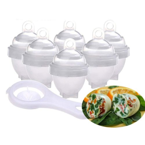 Egg Poacher Cups 7Pc Set