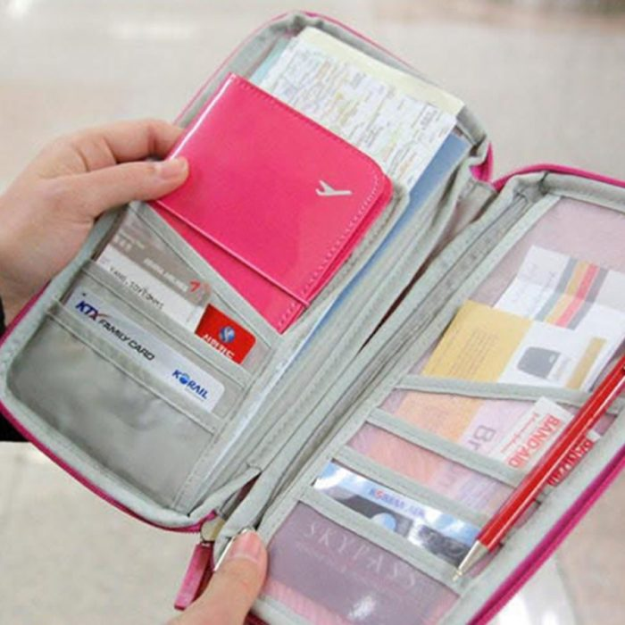 Travel Wallet Organizer All-in One Pouch