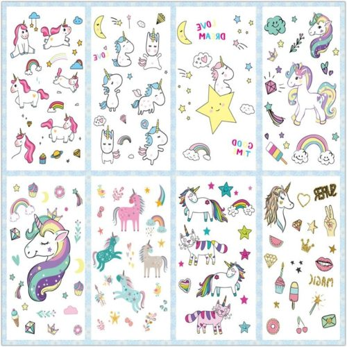 Temporary Tattoos For Kids Unicorn
