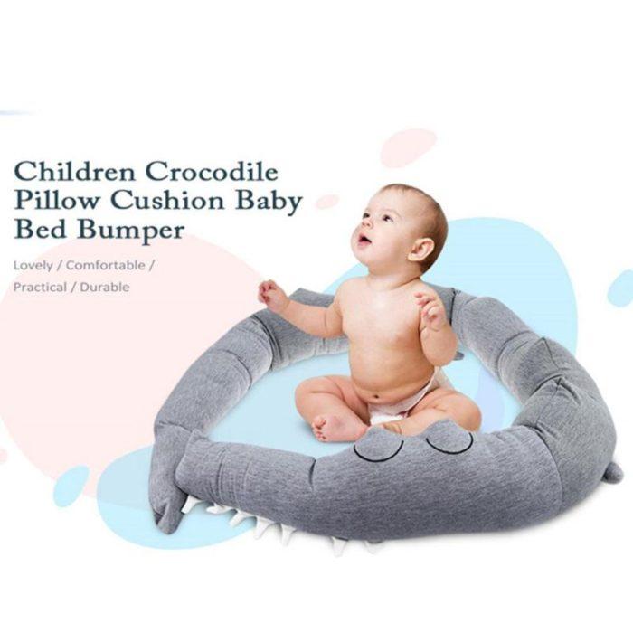 Crib Padding Crocodile Bumper Protection
