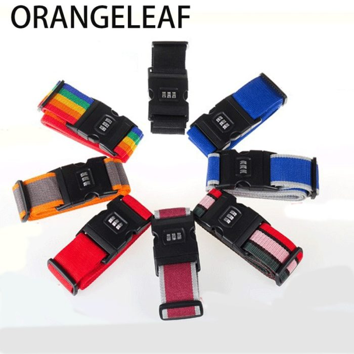 Luggage Belt Suitcase Strap Travel Accessory