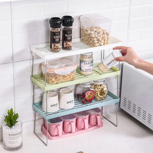 Kitchen Organizer Rack Storage Shelves