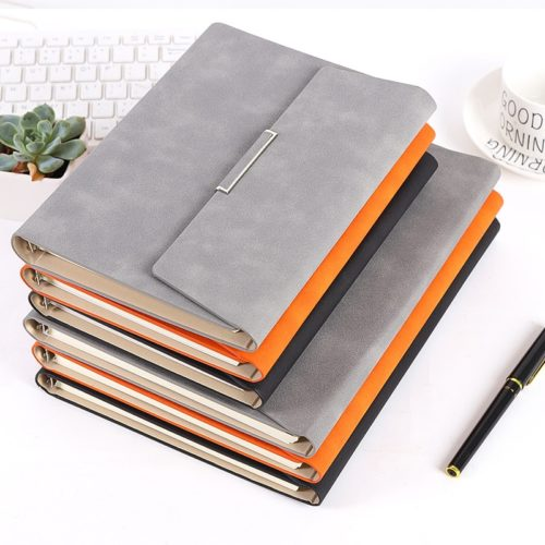Business Notebook Hardcover Planner