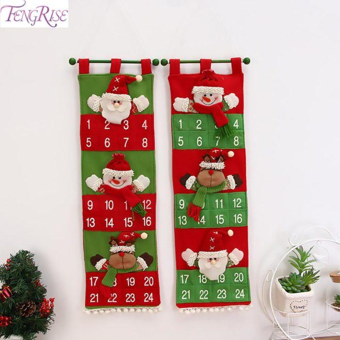 Christmas Advent Calendar House Decoration