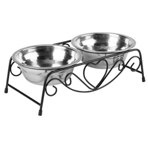 Elevated Dog Bowls Pet Feeder Set
