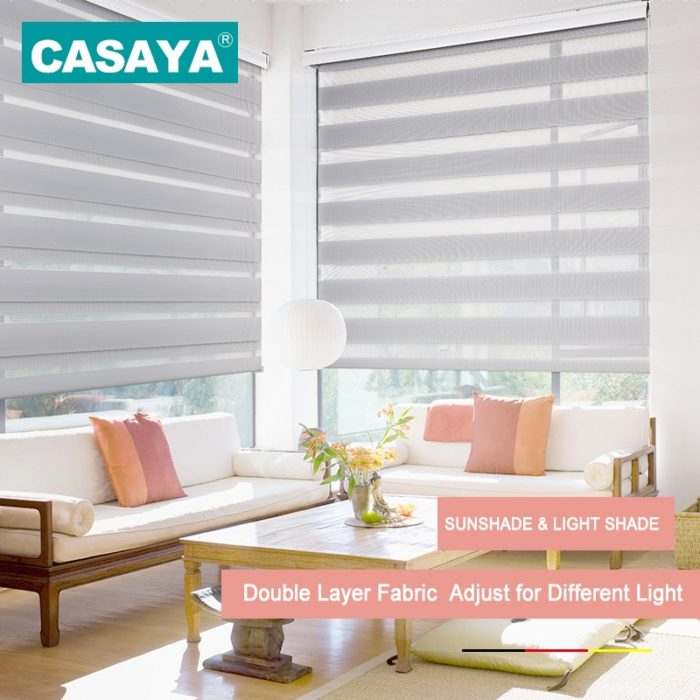 Window Blinds Stripe Window Shade