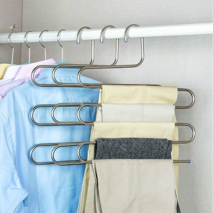 Trouser Hangers S-Type Stainless Steel