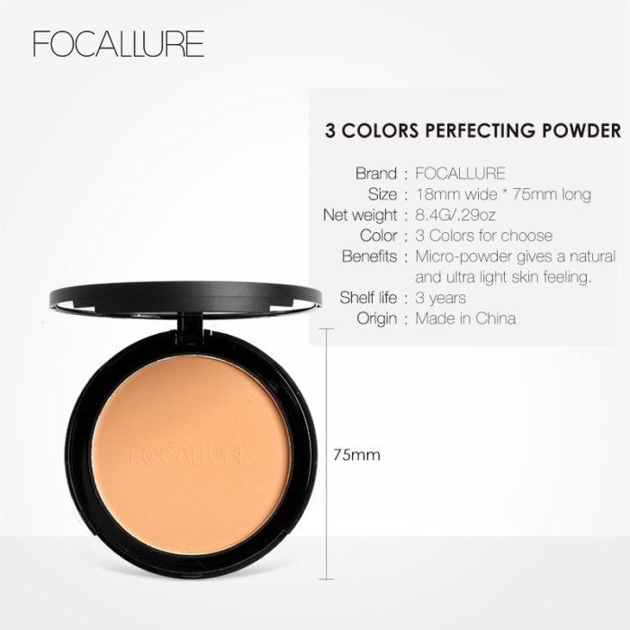 Compact Powder Face Makeup