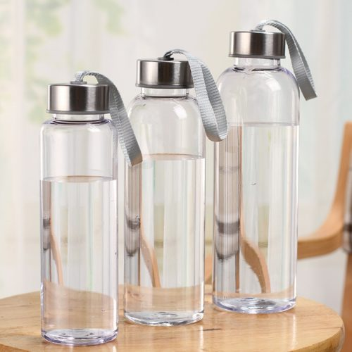 Transparent Water Bottle Leakproof Drinkware