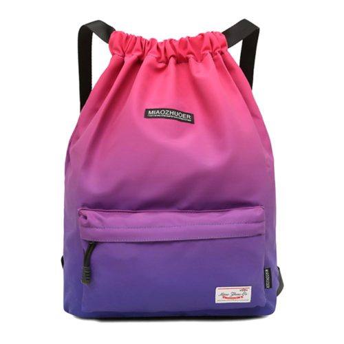 Drawstring Gym Bag Waterproof Backpack