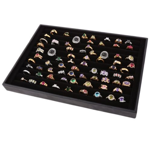 Ring Display Case Jewelry Organizer