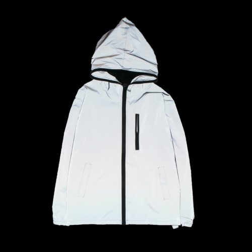 Windbreaker Jacket Reflective Coat