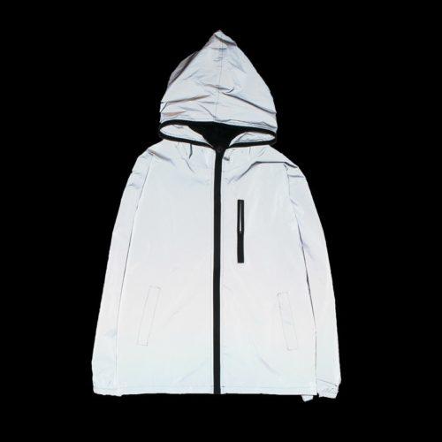 Windbreaker Jacket Reflective Coat