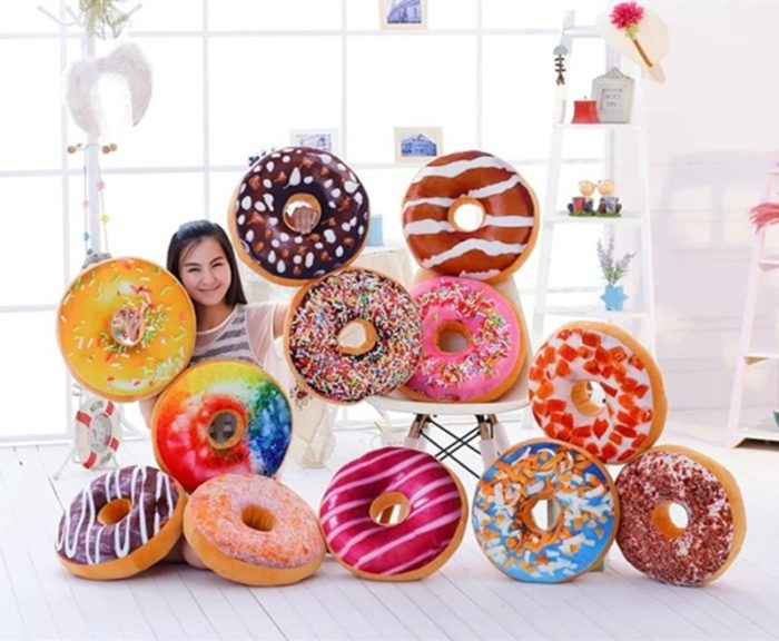Donut Seat Cushion 40cm Pillow