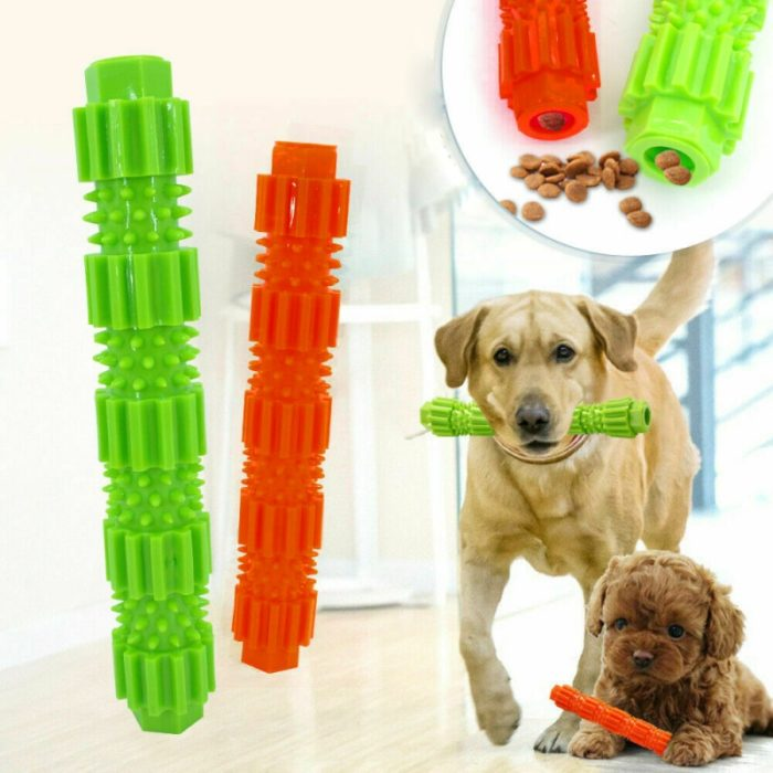 Dog Teeth Cleaning Toy Rubber Toothbrush