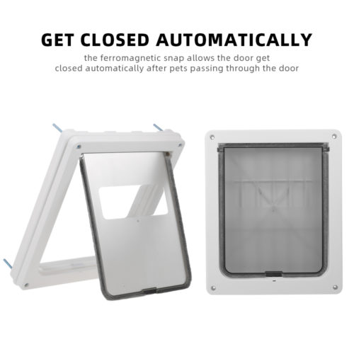 Automatic Dog Door Pet Flap Door