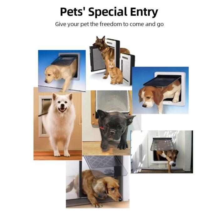 Automatic Dog Door Pet Flap Door