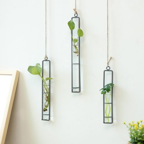 Terrarium Containers Glass Hanging Vase
