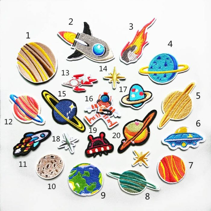 Sew On Patches 20PC Set
