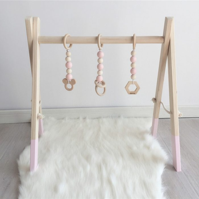 Wooden Baby Gym Simple Elegant Design