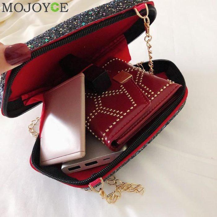 Chain Bag With Diamond Shape