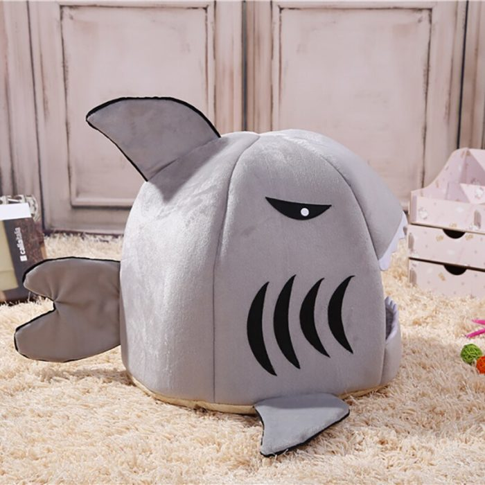 Shark Dog Bed Soft Dog House