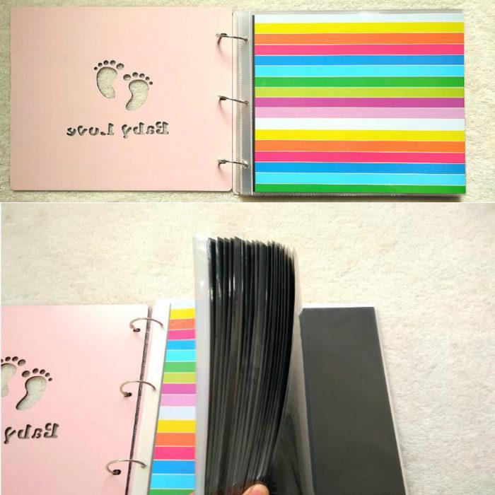 Baby Photo Album Scrapbook Kit