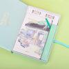 Travel Journal Set Notebook Pen Tape