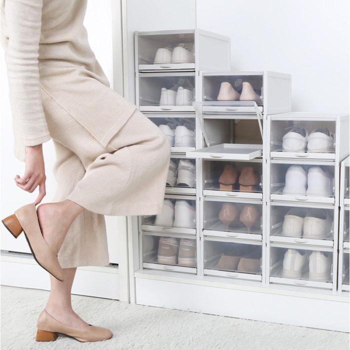 Stackable Shoe Boxes 3PC Set