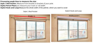 Add this valance curtain on your window and it will certainly bring beauty and elegance. Moreover, it can bring more life to your living room or bedroom. Make