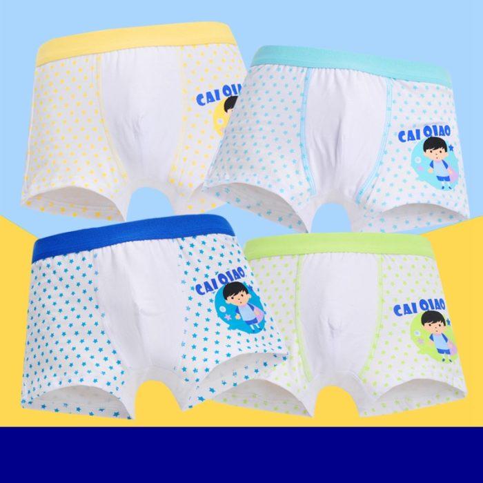 Boys Boxer Shorts Comfortable Underpants